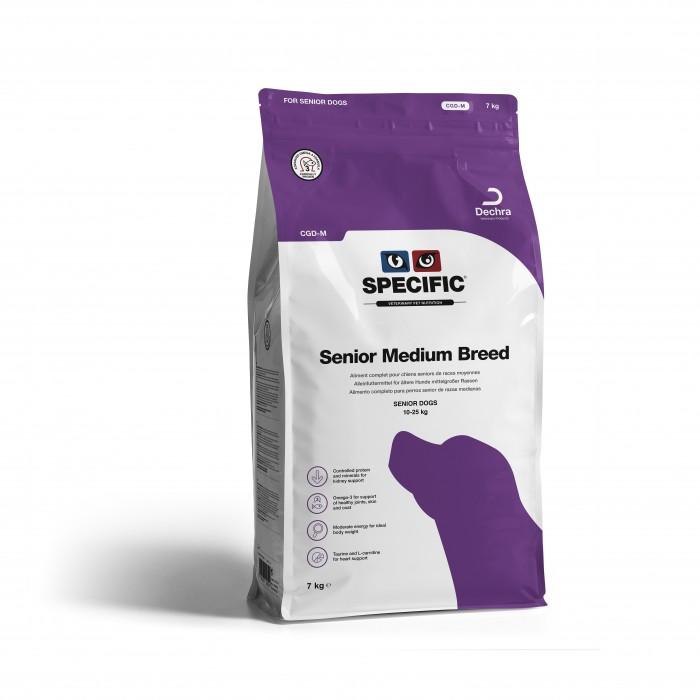 Alimentation pour chien - SPECIFIC Senior Medium Breed CGD-M pour chiens