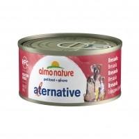 Pâtée en boîte pour chien - ALMO NATURE HFC Alternative - 6 x 70g