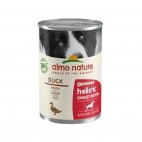 Pâtée en boîte pour chien - ALMO NATURE Holistic Single Protein Adult - 6 x 400 g