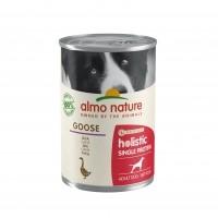 Pâtée en boîte pour chien - Almo Nature Holistic Mono Protein Adult - Lot de 400 g Holistic Single Protein Adult - Lot de 400 g