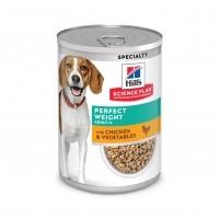 Pâtée en boîte pour chien de plus d'1 an - Hill's Science Plan Perfect Weight Adult