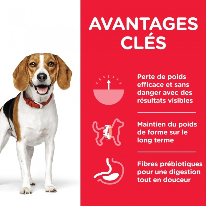 Alimentation pour chien - Hill's Science Plan Perfect Weight Adult pour chiens