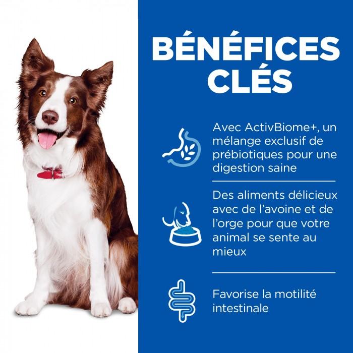 Alimentation pour chien - Hill's Science Plan Perfect Digestion Adult pour chiens