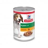 Pâtée en boîte pour chiot - HILL'S Science plan Puppy - Lot 12 x 370 g