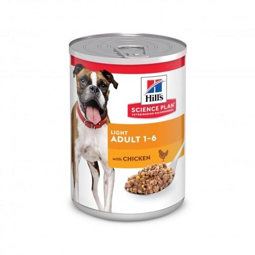 Alimentation pour chien - Hill's Science plan Light Adult pour chiens