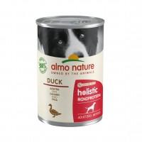 Pâtée en boîte pour chien - ALMO NATURE Holistic Single Protein Adult - 24 x 400 g