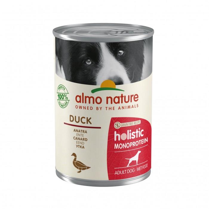 Alimentation pour chien - Almo Nature Holistic Mono Protein Adult - 24 x 400 g pour chiens