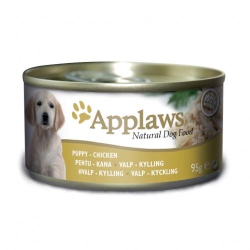 Alimentation pour chien - APPLAWS Boîte en gelée Chiot - 12 x 95g pour chiens