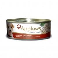Pâtée en boîte pour chien - APPLAWS Boîte en gelée Adulte -  12 x 156g