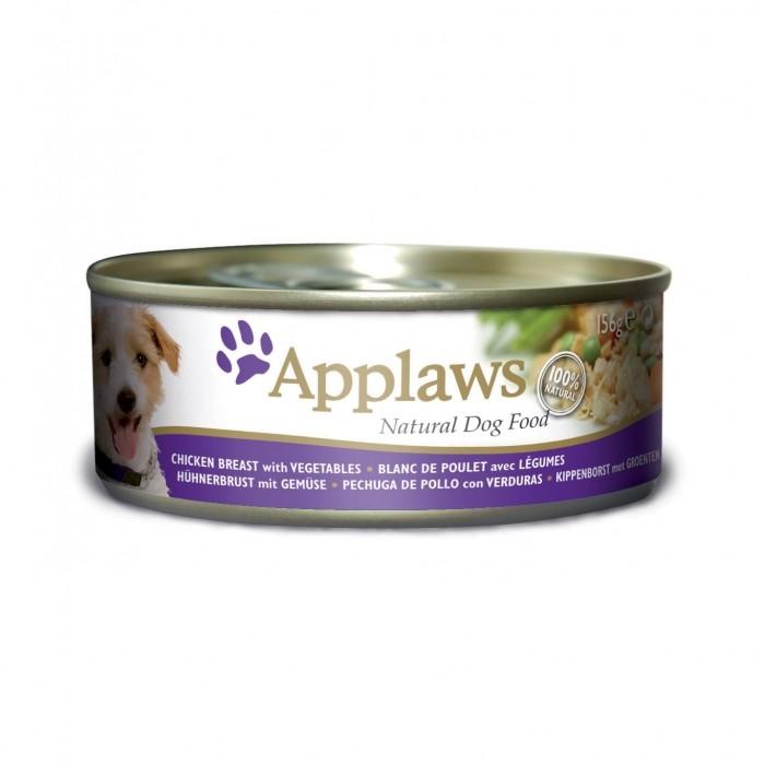 Alimentation pour chien - APPLAWS Boîte en gelée Adulte -  12 x 156g pour chiens