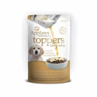 Aliment humide pour chiot - APPLAWS Toppers Soupe Chiot - 3 x 40g