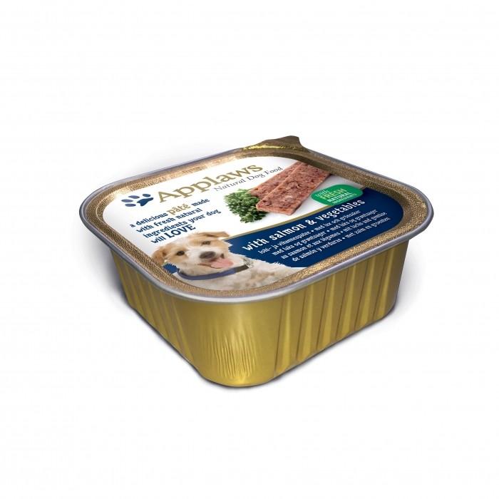 Alimentation pour chien - APPLAWS Pâtée Adulte - 7 x 150g pour chiens