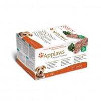 Pâtée en barquette pour chien - APPLAWS Multipack Pâtée Fresh Selection - 5 x 150g