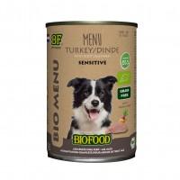 Pâtée en boite pour chien - Biofood Menu BIO Chien Menu BIO