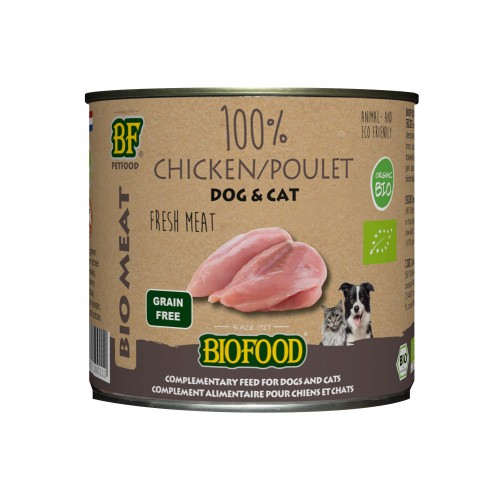 Alimentation pour chien - Biofood 100% viande BIO pour chiens