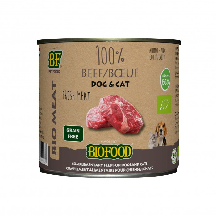 Biofood 100% viande BIO-100% viande BIO