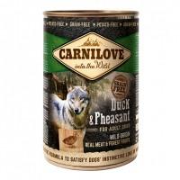 Pâtée en boîte pour chien - CARNILOVE Adult Canard & Faisan