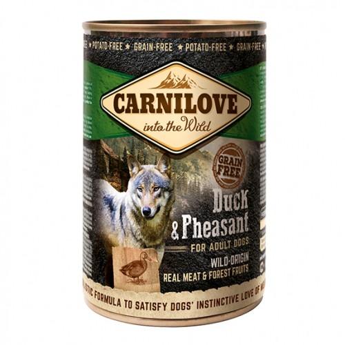 Alimentation pour chien - CARNILOVE Adult Canard & Faisan pour chiens