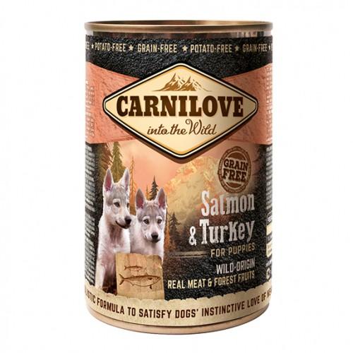 Alimentation pour chien - CARNILOVE Puppy Saumon & Dinde pour chiens