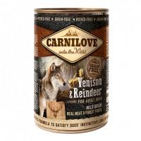 Pâtée en boîte pour chien - CARNILOVE Adult Chevreuil & Renne