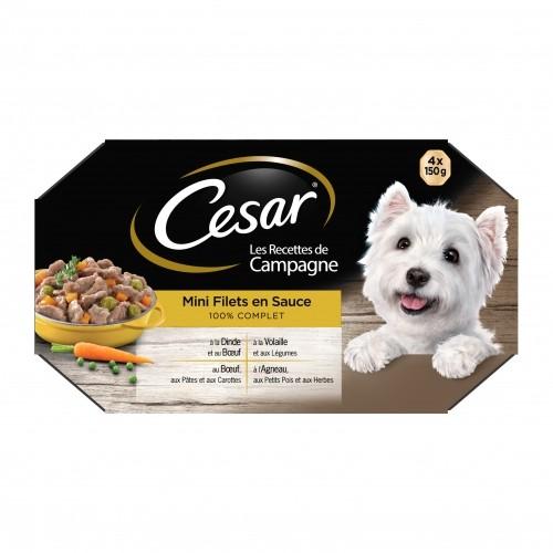 Alimentation pour chien - César Mini filets en sauce pour chiens