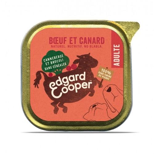 Alimentation pour chien - Edgard & Cooper, pâtée en barquettes pour chien adulte pour chiens
