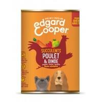 Pâtée en boîte pour chien - Edgard & Cooper, pâtée en boîtes pour chien adulte Pâtée sans céréales Adulte - 6 x 400g