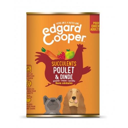 Alimentation pour chien - Edgard & Cooper, pâtée en boîtes pour chien adulte pour chiens