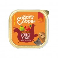 Pâtée en barquette pour chien - Edgard & Cooper Pâtée sans céréales Adulte - 11 x 150g