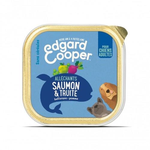 Alimentation pour chien - Edgard & Cooper, pâtée en barquette pour chien adulte - 11 x 150 g pour chiens