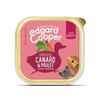 Pâtée en barquette pour chiot - Edgard & Cooper, pâtée en barquettes pour chiot Pâtée sans céréales Chiot - 11 x 150g