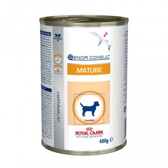 Alimentation pour chien - Royal Canin Mature Senior Consult - Pâtée pour chien pour chiens