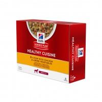 Pâtée en boîte pour chien adulte - Hill's Science Plan Adult - Mijotés Healthy Cuisine pour chien Healthy Cuisine