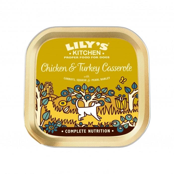 Alimentation pour chien - Lily's Kitchen Pâtée Adulte - Casserole pour chiens