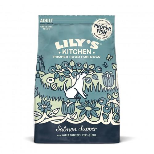Alimentation pour chien - Lily's Kitchen Adulte Sans Céréales - Saumon & patate douce pour chiens