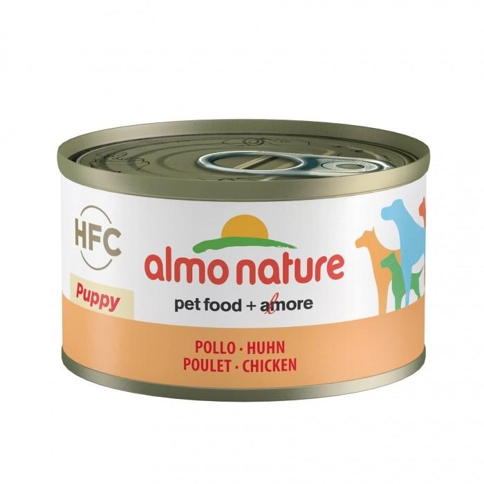 Alimentation pour chien - Almo Nature HFC Puppy - 6 x 95 g pour chiens
