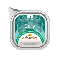 Pâtée en barquette pour chien - Almo Nature Daily Menu Adult - Lot 6 x 100 g Daily Menu Adult - Lot 6 x 100 g