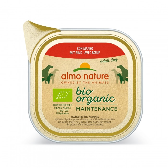 Alimentation pour chien - Almo Nature Daily Menu Bio Adult - 6 x 100 g pour chiens