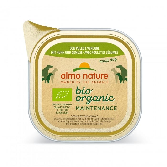 Alimentation pour chien - Almo Nature BioOrganic Maintenance Adult - 6 x 100 g pour chiens