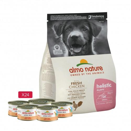 Alimentation pour chien - Almo Nature Kit pour chiot pour chiens