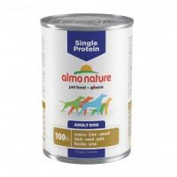Pâtée en boîte pour chien - ALMO NATURE Single Protein - Lot 24 x 400 g