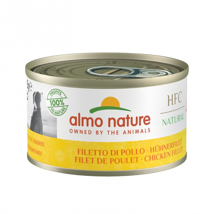 Alimentation pour chien - Almo Nature HFC Natural - 24 x 95 g pour chiens