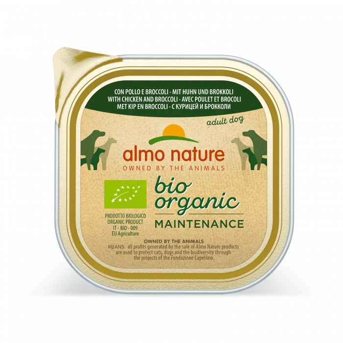Alimentation pour chien - Almo Nature BioOrganic Maintenance Adult - 9 x 300 g pour chiens