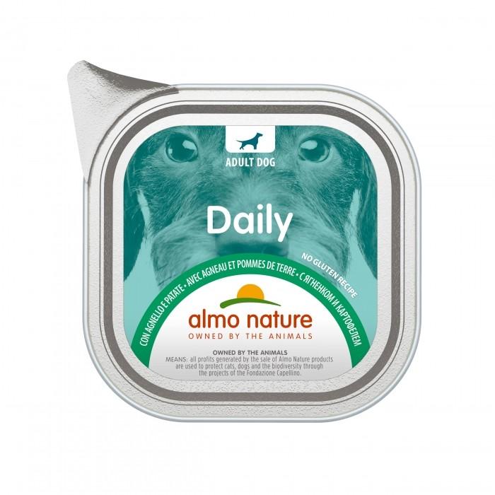 Alimentation pour chien - Almo Nature Daily Menu Adult - Lot 32 x 100 g pour chiens