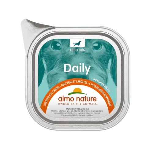 Alimentation pour chien - Almo Nature Daily Menu Adult Sans céréales - Lot 32 x 100 g pour chiens
