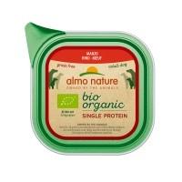 Pâtée en barquette pour chien - ALMO NATURE BioOrganic Single Protein - 11 x 150 g