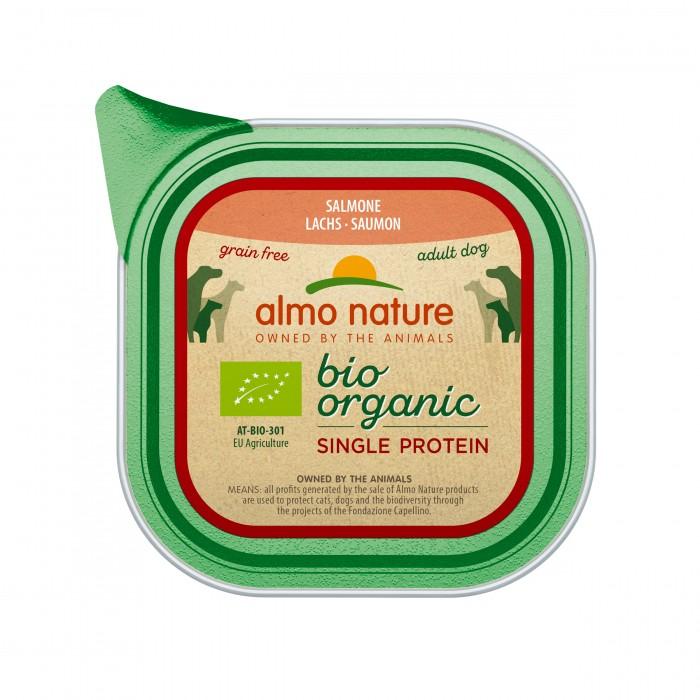 Alimentation pour chien - Almo Nature BioOrganic Single Protein - 11 x 150 g pour chiens