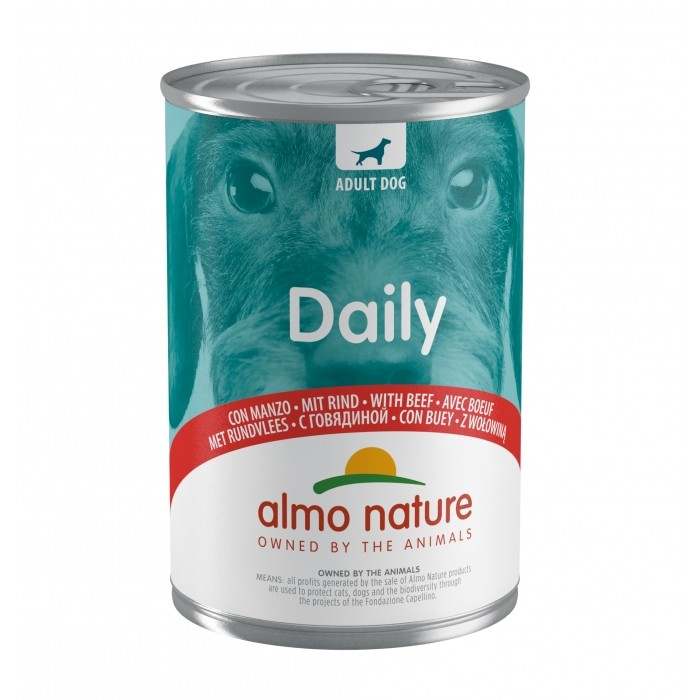 Alimentation pour chien - Almo Nature Daily Menu 24x400g pour chiens
