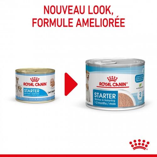 Alimentation pour chien - Royal Canin Starter Mother & Babydog - Pâtée pour chiot pour chiens