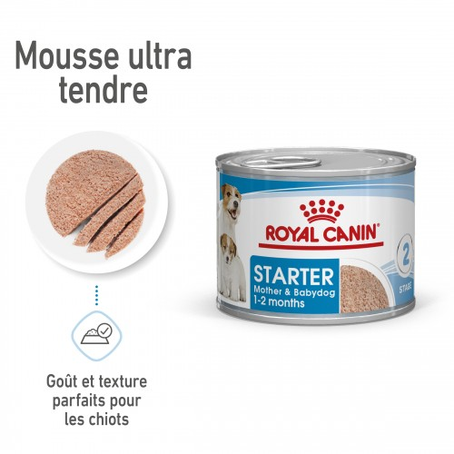 Alimentation pour chien - Royal Canin Starter Mother & Babydog pour chiens